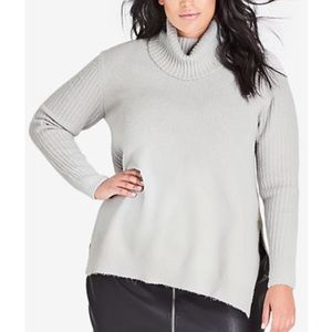 City Chic Jumper Roll Neck Sweater